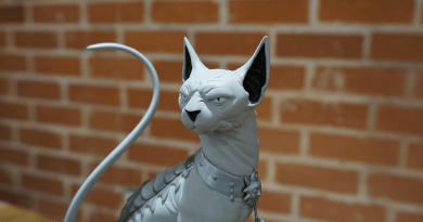 SAGA's Lying Cat statue set for Local Comic Shop Day