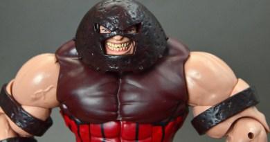 Marvel Legends Juggernaut figure review Build-A-Figure