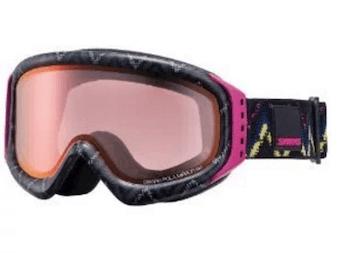 スノーボードのゴーグルの色の種類と選び方②:ピンク系