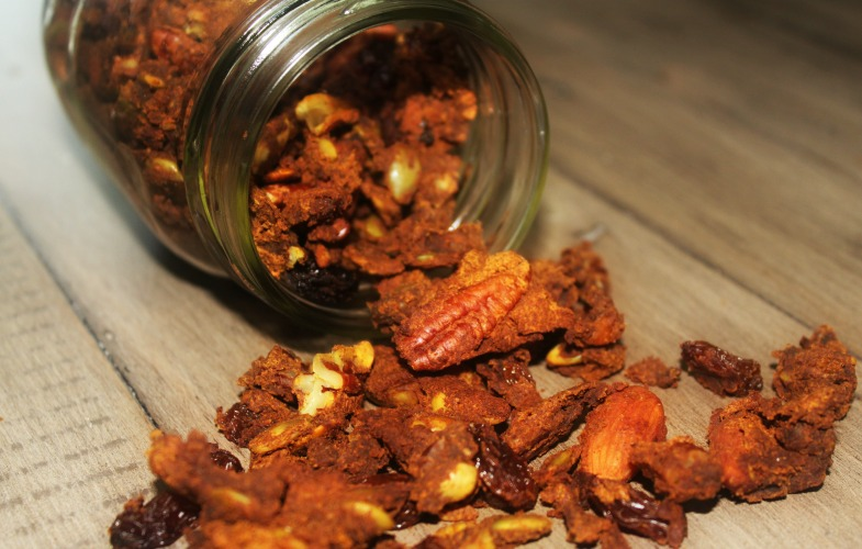 Paleo Pumpkin Crunch Cereal