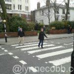 crossing Abbey Road