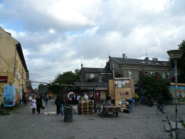 Freetown Christiania (photo from Wikipedia)