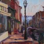Main Street Annapolis 9x12 SOLD