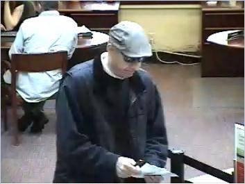 Wells fargo bank robber 1 April 2013