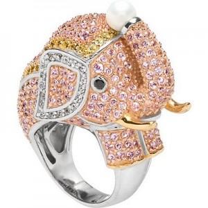 Cocktail-ring elefant