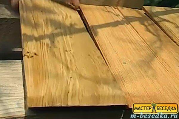 montaj-planok-dranki-nai-krishu-besedki-iz-brevna-svoimi-rukami