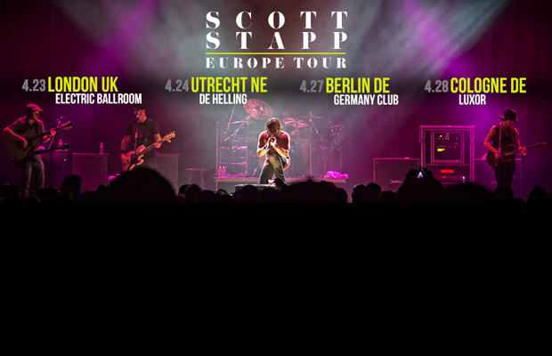 Former Creed Front Man Scott Stapp Tours Europe