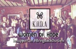 New UK Charity KODA Releases Single Women Of Hope In Aid Of Kidnaped Nigerian Girls