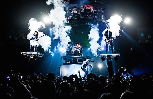 Skillet Sell Out Show Across Europe