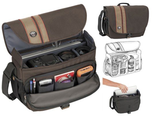 Tamrac 3447 brown Test Produit : Le sac Tamrac Rally 7