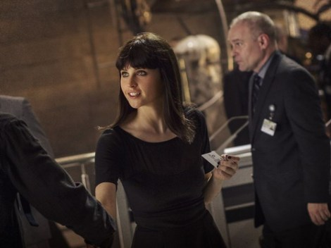 "Felicity Jones xuất hiện chớp nhoáng trong phim ""The Amazing Spider-Man 2""."