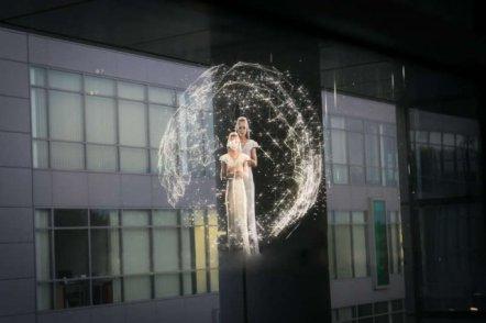 Polska firma stworzyła holograficzny wyświetlacz 3D rodem z filmów S-F
