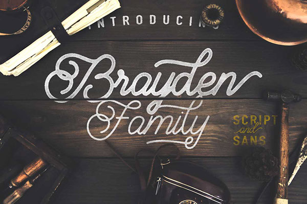 Brayden Family Typeface font Download