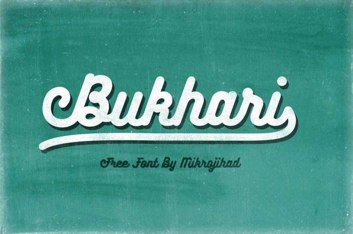 Bukhari Script Free Font Download