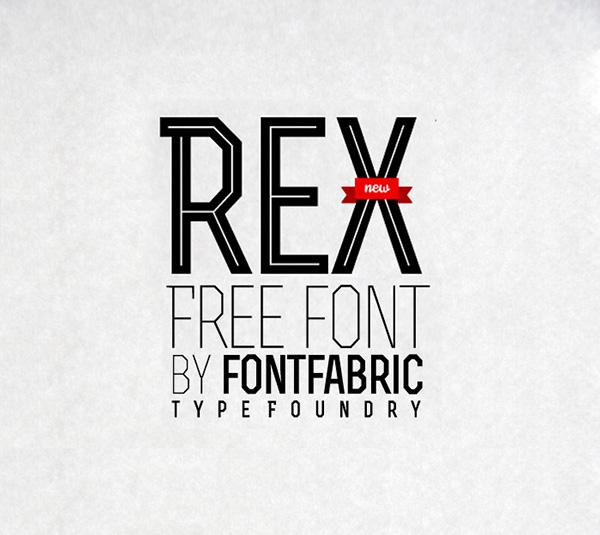 Rex-fresh-free-fonts-2012