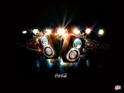 Coke Live Music Festival Wallpaper #2 on Behance