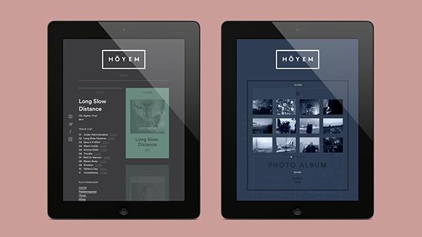 海外のレスポンシブWEBデザイン Tablet タブレット