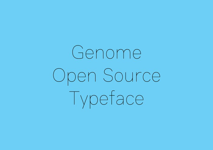 Genome Font Download