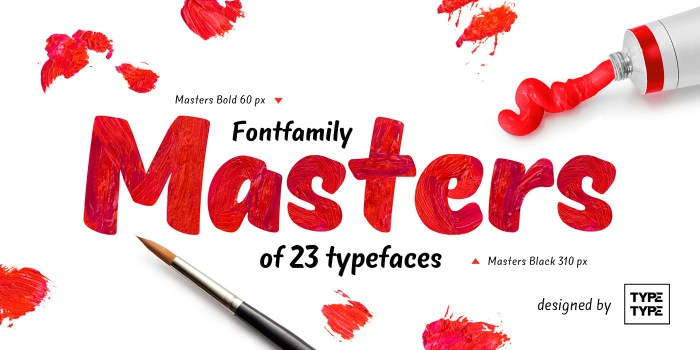 Masters Free Font Download