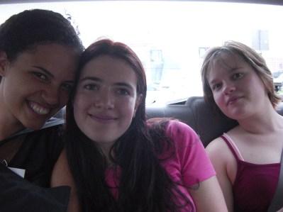 Julie Sugar, Sarah Clarke, Rachel Speight