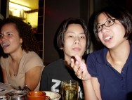 Sarah Clarke, Elissa Sloan, Josh Wu