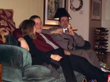Chris Hageney, Junior Raimond, Lee Ann Raimond