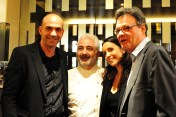 Loic Le Meur, Guy Savoy, Geraldine Le Meur