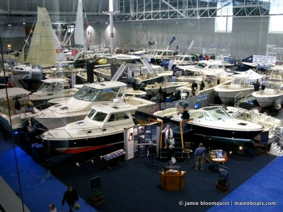 A Trip to the 2011 New England Boat Show in Boston   Massachusetts