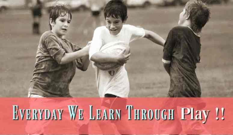 Everyday We Learn Through Play