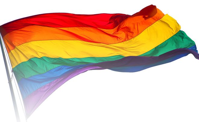 Rainbow flag by Benson Kua