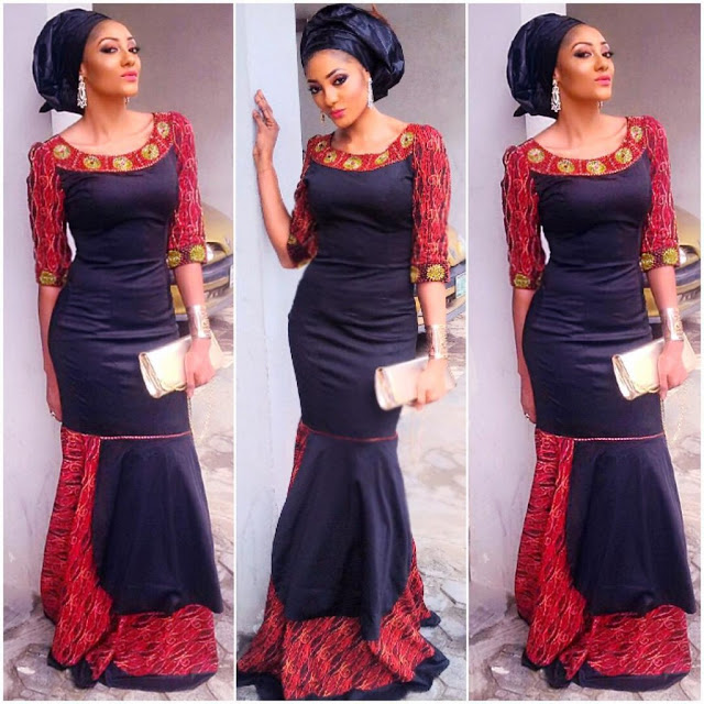 Lovely Ankara Gown Designs For Beautiful Ladies