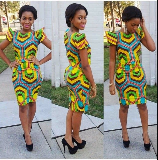 More Ankara Short Gown Collections 2017