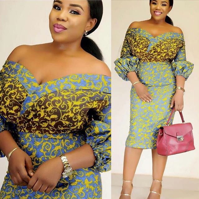 Sweetest Short Ankara Dresses Styles You Should Rock This Month