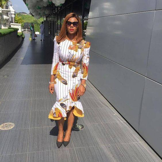 short ankara dresses for ladies, trendy women short african ankara dresses, short african dresses, ladies trendy ankara short gown and dresses styles, Trendy Short Ankara Dresses To Slay This Month