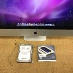 iMac A1312(27インチ)のカスタマイズ SSD交換