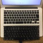 MacbookAirのキーボード交換を格安に行っております!