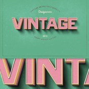 new_vintage_retro_text_effects