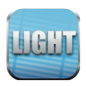 Digital film tools light logo icon