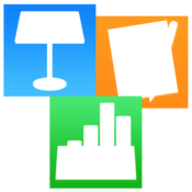 Suite for iwork themes for keynote templates for pages and numbers icon