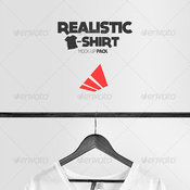 Realistic t shirt mock up pack 7325557 icon