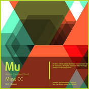 Adobe muse cc 2015 2 0 877 logo icon