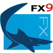 Shark fx experience the shark advantage in your next product design icon