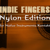 Dream audio tools indie fingers v5 nylon edition kontakt icon