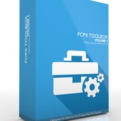 Pixel film studios toolbox volume 1 for fcpx icon