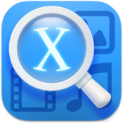 Xview 2 photo image viewer and video player icon