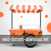 Ice cream cart mock up 17215731 icon