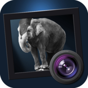 Jixipix dramatic black and white icon