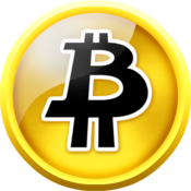 Bitcoin monitor icon
