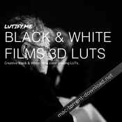 Lutify me black and white films 3d luts icon
