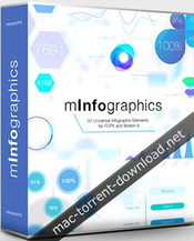 Motionvfx minfographics charts and diagrams plugin for fcpx icon